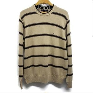 Vintage Tommy Hilfiger Striped Sweater Lg